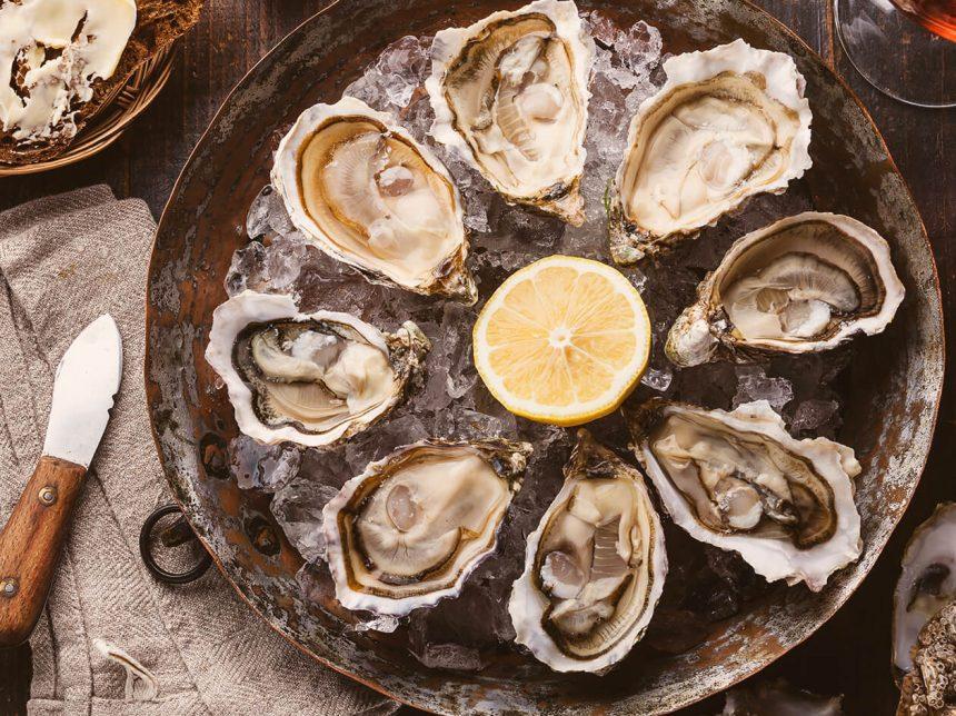Island Creek Oysters With Lemon